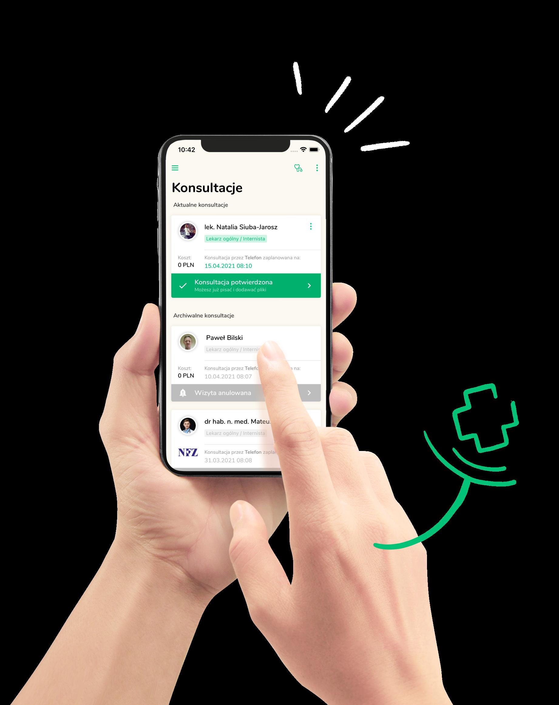 Telemedi mobile app photo